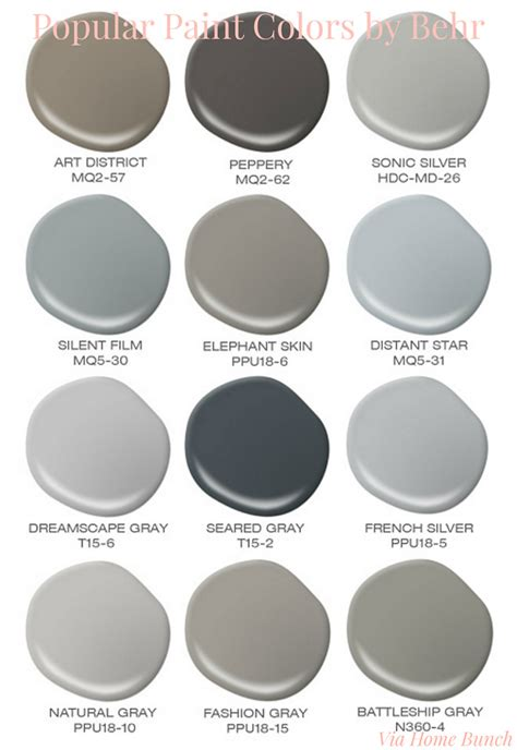 popular behr exterior paint colors paint color palette interior design ideas home bunch