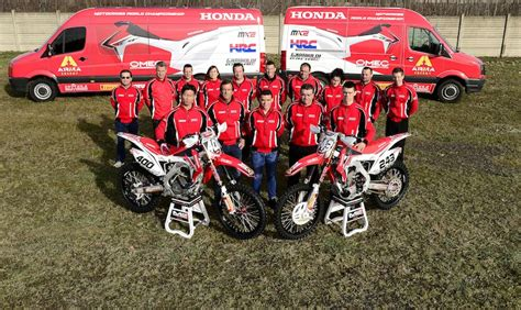 Team Honda by Team Honda Gariboldi 2014 The Power Of Dreams Mxgp