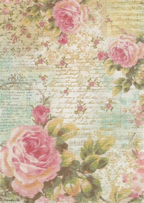 rice paper craft 17 best images about printable on vintage