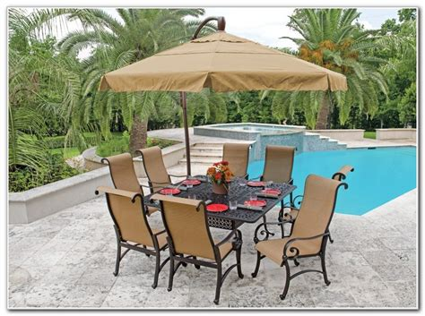 patio dining sets with umbrella patio furniture dining sets with umbrella patios home