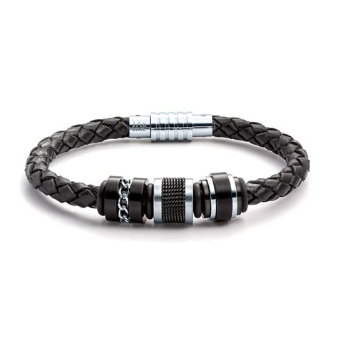 jewelry bracelets aagaard mens jewelry leather bracelet no 1258 landing