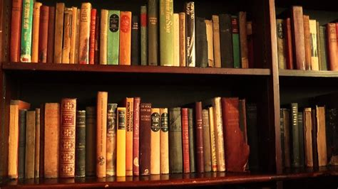 books pictures free free stock footage bookshelf with books 01