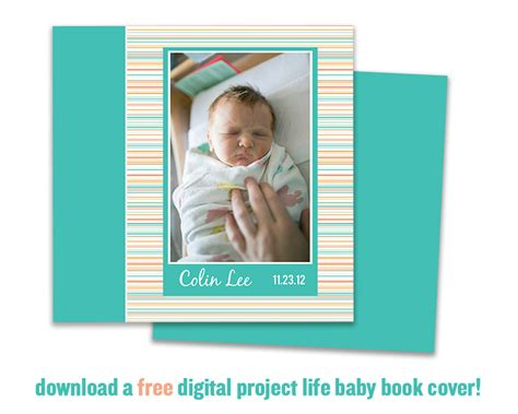 baby picture book ideas colin s baby book free digital project cover miss