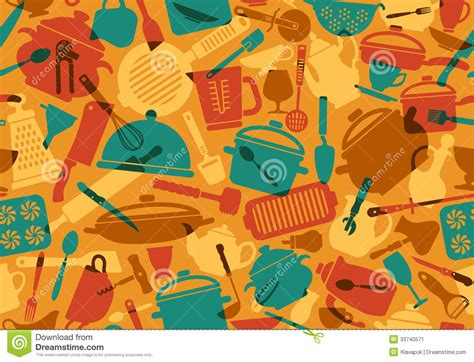 Kitchen Designs Unlimited cooking background stock vector image of background