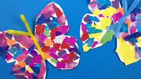 easy toddler crafts paper butterfly crafts preschool find craft ideas
