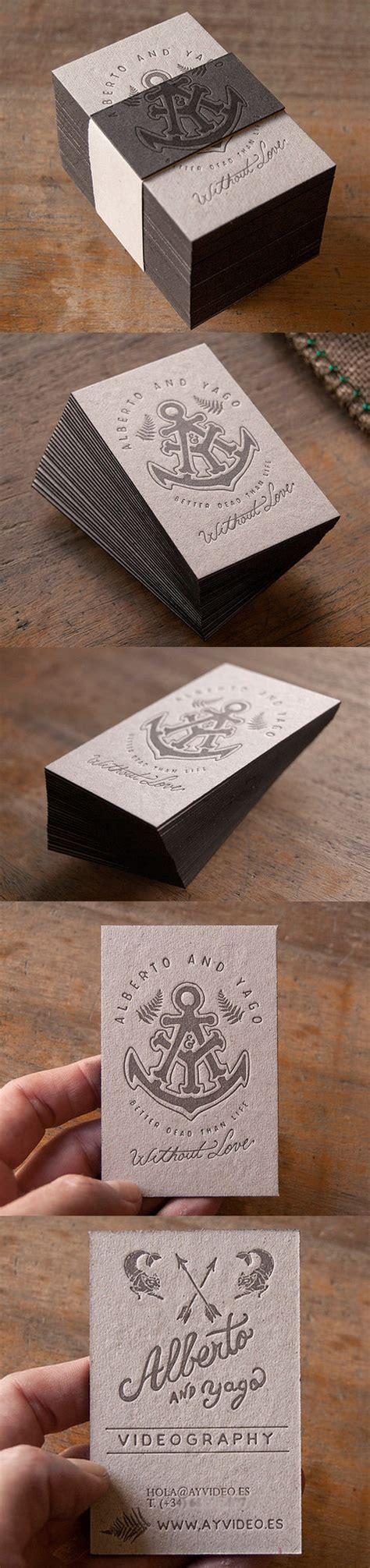 card set earthy vintage styled letterpress business card set for a