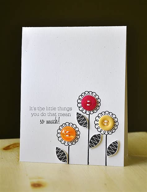 button cards make your own simply sted papertrey ink june 2011 release