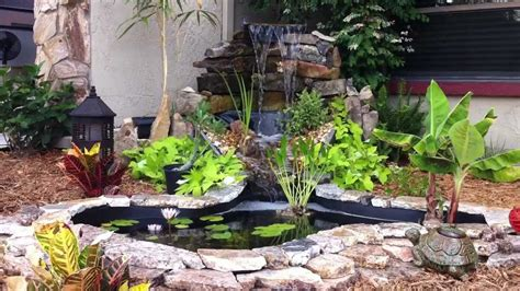 backyard pond ideas with waterfall border ponds diy small backyard ponds with waterfall