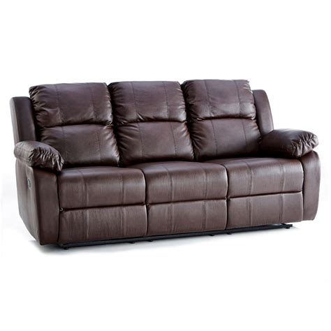 3 reclining sofa 3 seater leather reclining sofa next day delivery