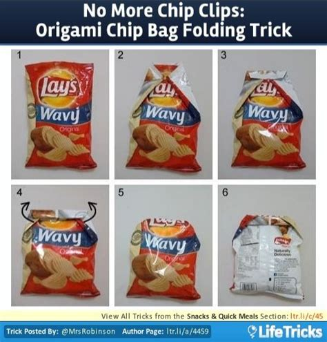 crisp packet origami 25 best ideas about chip bag folding on fold