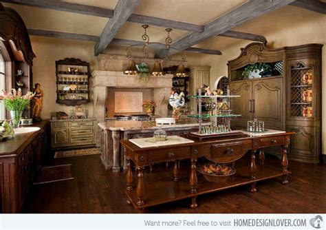 Kitchen Island Range 15 fabulous french country kitchen designs home design lover