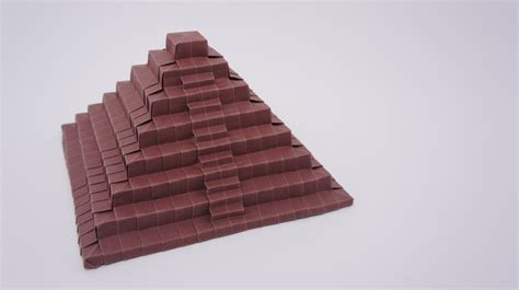 origami ancient steps preview origami ancient pyramid time lapse