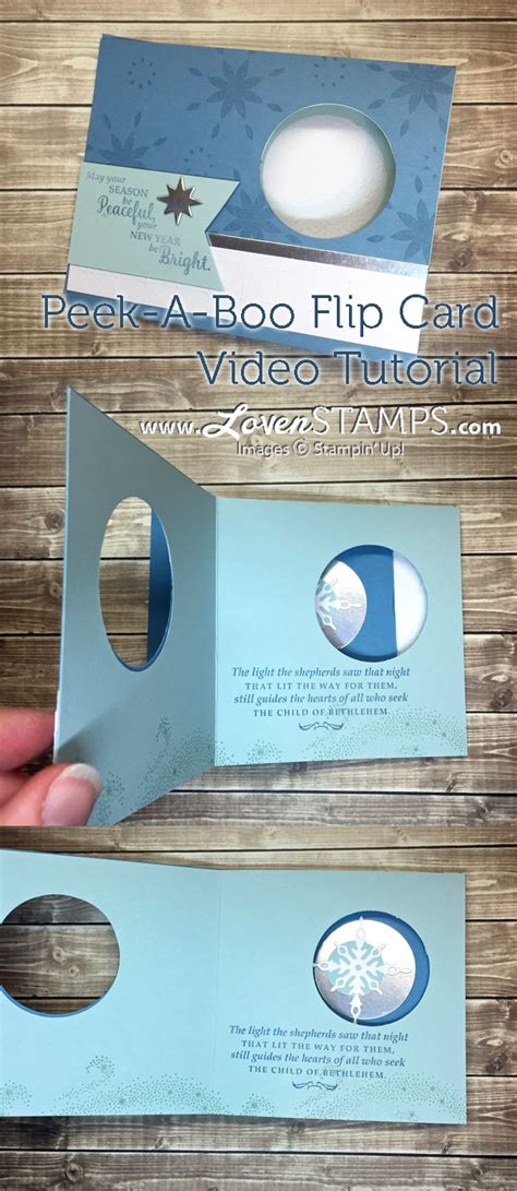 how to make flip card wow card how to make a peek a boo flip card lovensts
