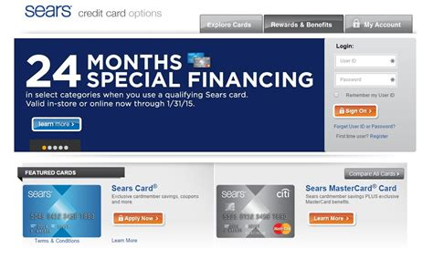 sears credit card make payment www citibank searscard citibank searscard
