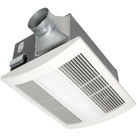 bathroom ventilation fans with light and heat panasonic whisperwarm 110 cfm ceiling exhaust bath fan