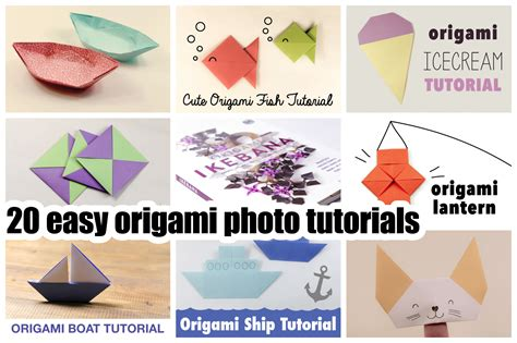 simple origami tutorial origami step by step images images