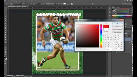 make a card in photoshop make a trading card in adobe photoshop part 1