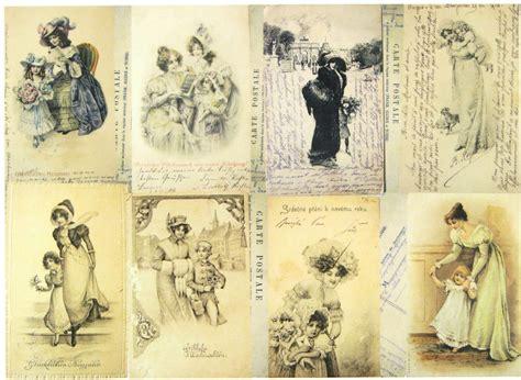 decoupage history a 4 classic decoupage paper scrapbook sheet vintage