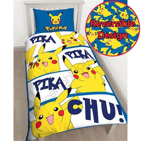 childrens bedroom bedding sets pikachu single duvet cover set childrens bedroom