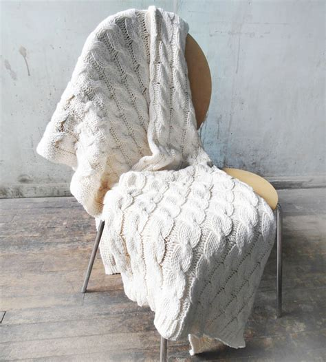 how to knit a throw blanket cable knit throw blanket home decor lighting