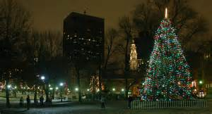 tree lighting boston boston common tree lighting costs canadians 242 000