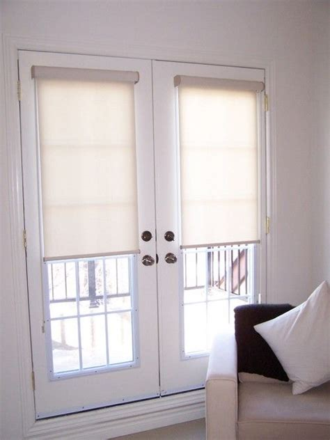 roller shades for patio doors 25 best ideas about door blinds on