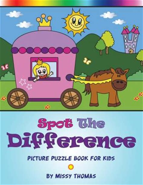 picture puzzle books spot the difference spot the difference picture puzzle book for
