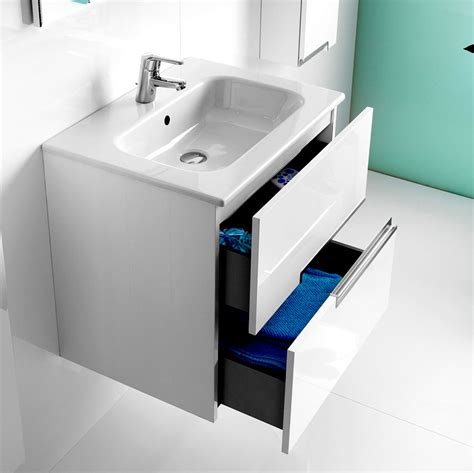 bathroom basin vanity units roca n 2 drawer vanity unit with basin uk bathrooms