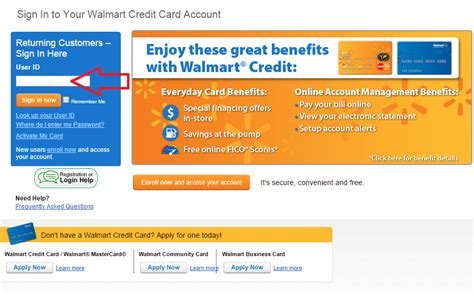 make payment walmart credit card walmart credit card manager and make a payment