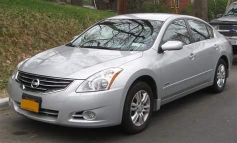 Nissan Altima Hybrid by 2011 Nissan Altima Hybrid Photos Informations Articles