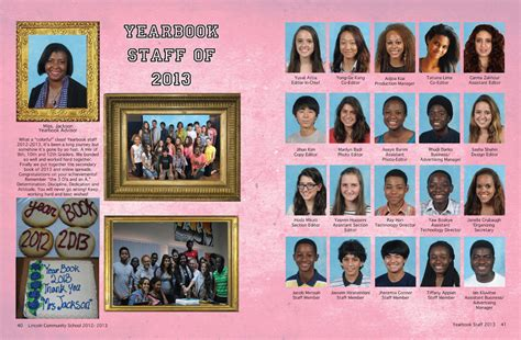 year book picture lincoln community school digital yearbook diy