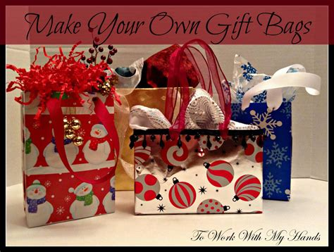 for to make as gifts do it yourself make your own gift bags money