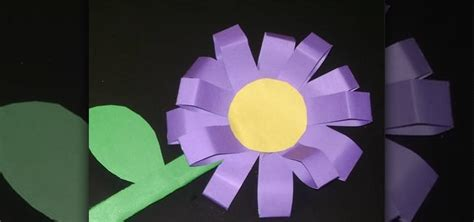 3d craft for how to craft a 3d flower with your 171 activities