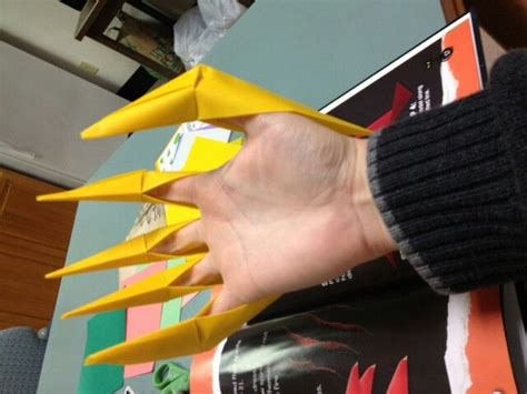 origami claws 17 best images about paper crafts on