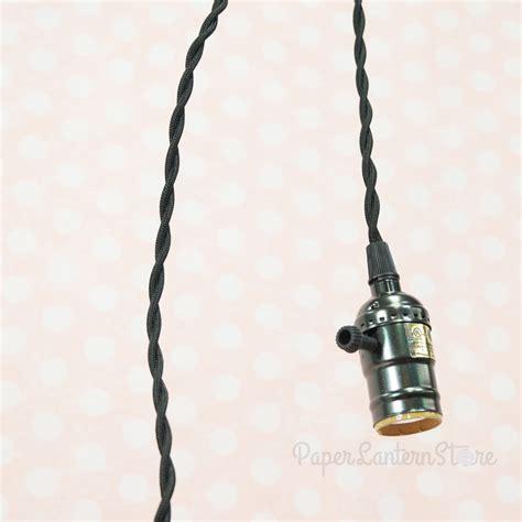 cord light socket single pearl black socket pendant light l cord kit w