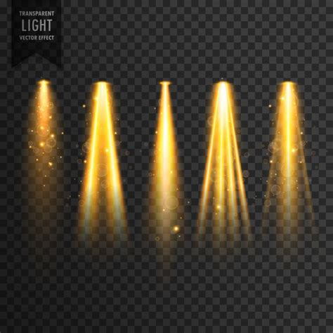 light s realistic stage lights vector free