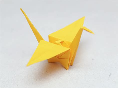 paper cranes origami how to fold a paper crane with pictures wikihow