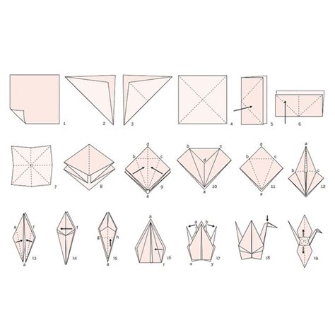 fold origami crane how to make an origami crane for your wedding martha