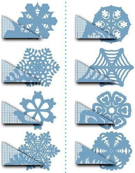 Crafts Paper Snowflakes How To Cut A Snowflake