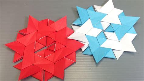how to make modular origami easy origami modular hexagon