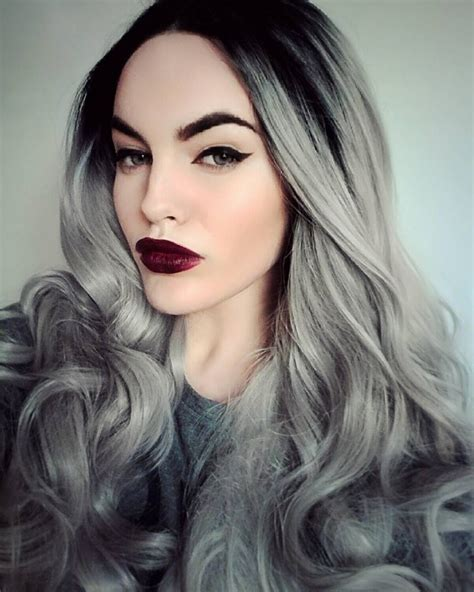 popular trending gray hair colors glam hair color combinations for grey hair new hair