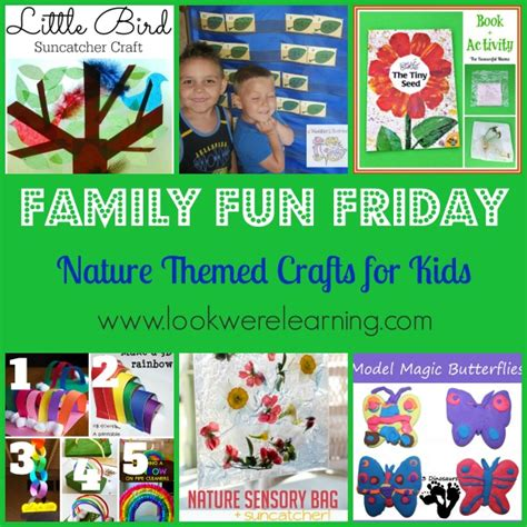 family themed crafts for nature themed crafts for with family friday