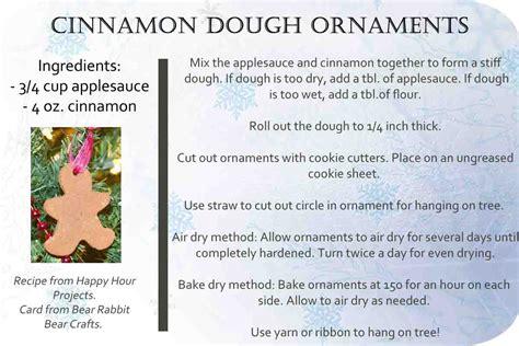 cinnamon ornament recipe cinnamon dough ornaments with free printable recipe card