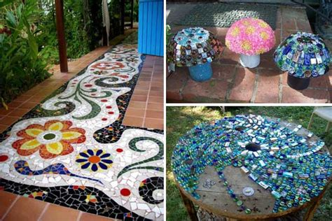 diy craft projects for the yard and garden 28 stunning mosaic projects for your garden architecture