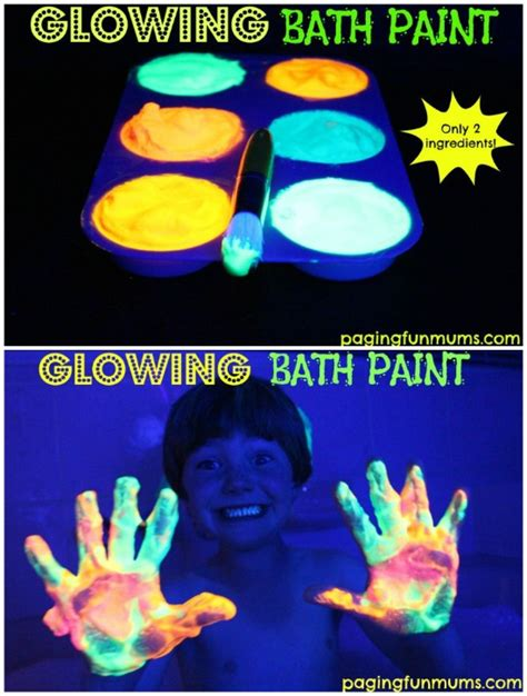 glow in the paint projects 25 amazingly glow in the diy projects for
