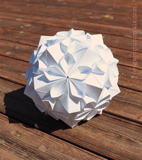 tomoko fuse origami cherry blossom kusudama by tomoko fuse origami