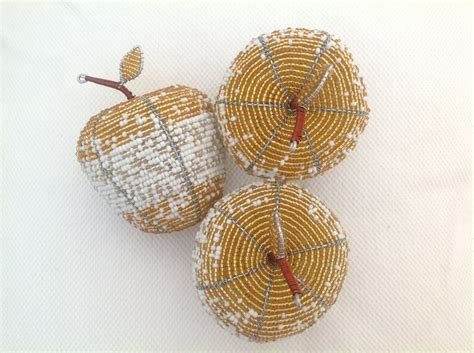 bead and wire crafts beaded wire craft apple auradecor designsauradecor designs