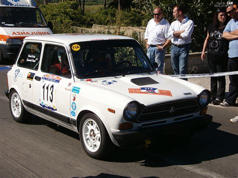 Car Wallpaper Stickers by Rally Automobile Race Stickers Autobianchi A112 Cars