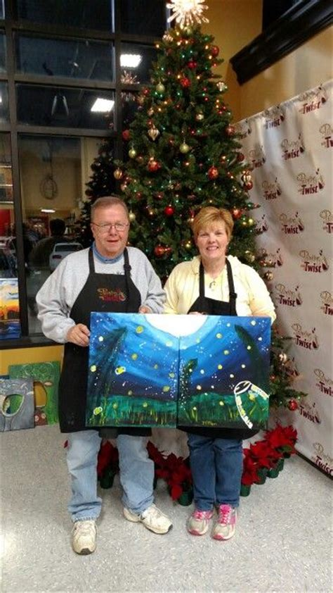 paint with a twist couples couples at painting with a twist activities