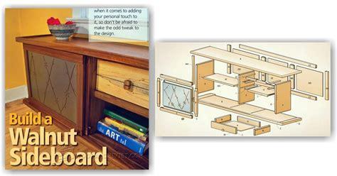 sideboard woodworking plans sideboard plans woodarchivist